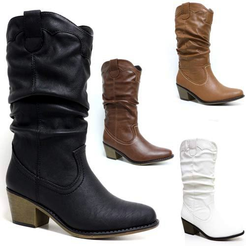 Our Women's Collection is simple & chic, including handmade calfskin & suede leather boots in two shapes - a traditional cowgirl & a modern western bootie.