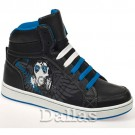 BOYS GIRLS ANKLE HI HIGH TOPS SKATE TRAINERS BASEBALL SCHOOL DANCE SHOES