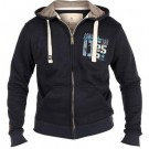 Small Mens Full Zip Hooded Top Winter Warm Thermal Boys Jumper Sweater Shirt