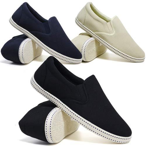 Mens Memory Foam Canvas Espadrilles Boat Deck Plimsolls Trainers Pumps Shoes
